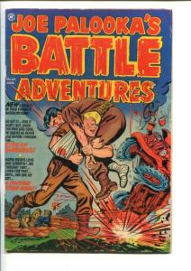 JOE PALOOKA'S BATTLE ADVENTURES  #69-1952-COMMIES-KOREAN WAR STORIES-vg