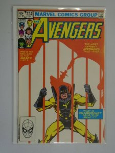 Avengers #224 Direct edition 7.0 FN VF (1982 1st Series)