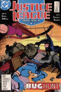 Justice League (1987 series) #26, VF+ (Stock photo)