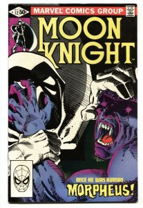 Moon Knight #12 1981 - 1st appearance of Morpheus