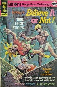 Ripley Believe It Or Not True Ghost Stories 51 Gold Key Comic Bronze Age 1974 VG