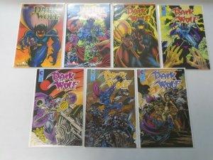 Dark Wolf lot 13 different issues 8.0 VF (1987-89 Eternity + Malibu)