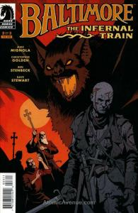 Baltimore: The Infernal Train #3 VF; Dark Horse | save on shipping - details ins