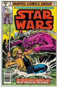 STAR WARS 36 F-VF June 1980