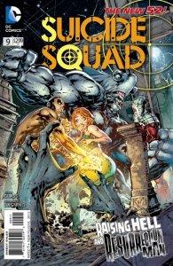 Suicide Squad #9 (VF/NM) 2012 DC Comics ID#000
