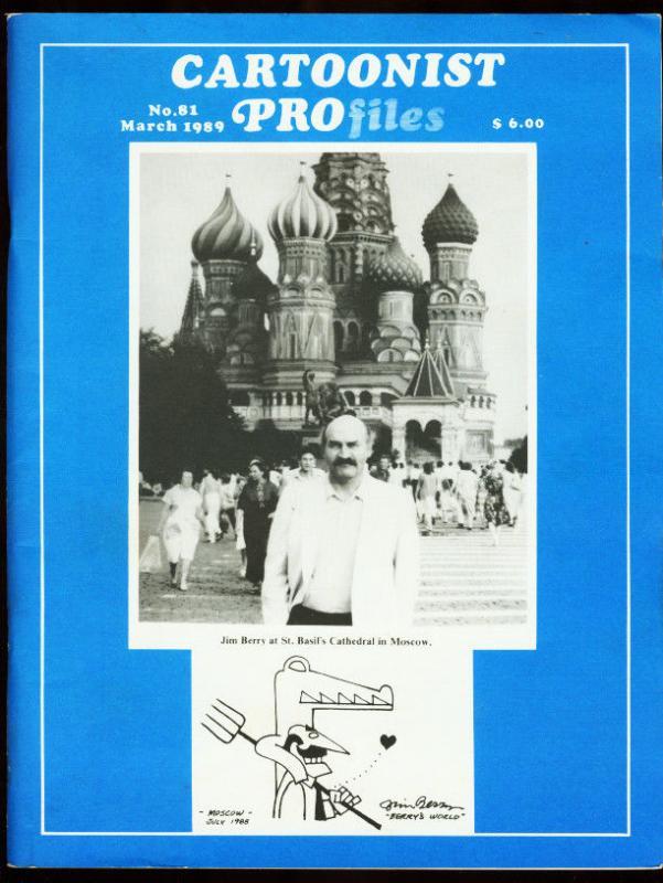 CARTOONIST PROFILES #81-1987-DICK AYERS-SUNDAY FUNNIES FN