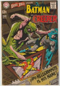 Brave and the Bold, The #80 (Nov-68) FN/VF Mid-High-Grade Batman, the Creeper
