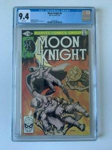 Moon Knight #6 (1980 Series)  -  CGC 9.4