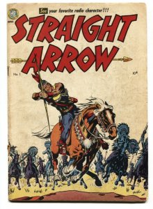 STRAIGHT ARROW #1-FIRST APPEARANCE-WESTERN-ME comic book