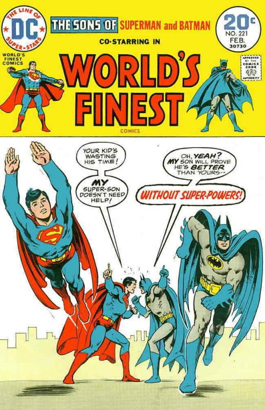 World's Finest Comics #221 FN; DC | save on shipping - details inside