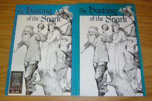 Lewis Carroll's the Hunting of the Snark #1-2 VF complete series - tome press