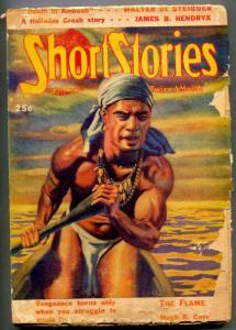 Short Stories Pulp July 10 1938-Hugh B Cave- Frank Gruber