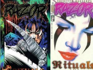 RAZOR (1992 LONDON NIGHT) 11-12  Rituals 2-Part Story