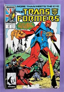 Steve Parkhouse TRANSFORMERS #33 John Ridgeway (Marvel, 1988)!