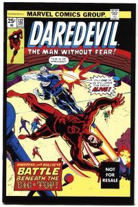 DAREDEVIL #132 BULLSEYE ISSUE MARVEL-HIGH GRADE-RARE 2ND PRINT