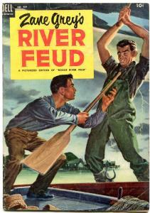 Four Color Comics #484 1953- Zane Grey's River Feud VG