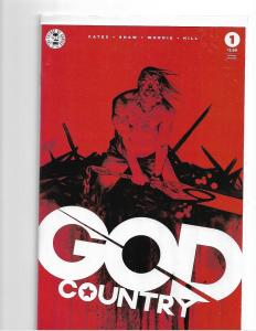 GOD COUNTRY #1 - 2ND PRINT - NM/NM+ DONNY CATES - HOT COMIC