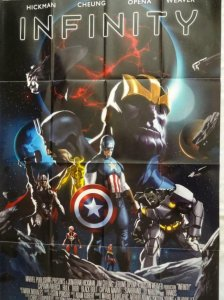 INFINITY Promo Poster, 24 x 36, 2013, MARVEL Thanos Unused more in our store 300