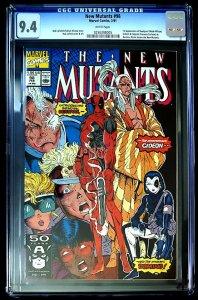 New Mutants #98 (Feb 1991, Marvel) - 1st Deadpool - CGC 9.4 NM