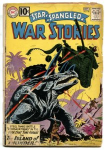 Star Spangled War Stories #98 1961-DC WAR COMIC-SILVER AGE fair