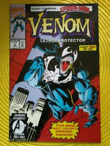 Venom: Lethal Protector #2 Marvel (1993) Spider-Man (unread copy)