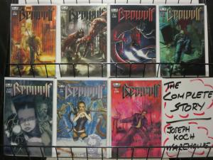 BEOWULF (2005 SPEAKEASY) 1-7  Augustyn & DuB!  COMPLETE COMICS BOOK