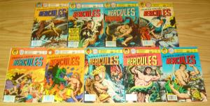 Charlton Classics #1-9 FN complete series - hercules - sam glanzman 1980 set lot