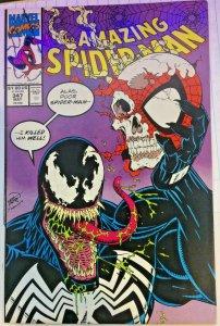 Amazing Spider-Man #347 Venom Spiderman VF/NM Marvel 1991