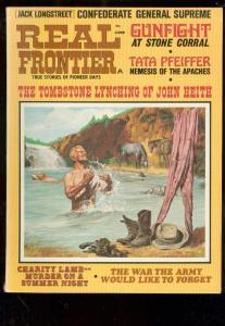 REAL FRONTIER MAG-JULY 1970-MODOC-JACK LONGSTREET-PULP FN