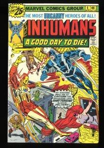 Inhumans #4 NM- 9.2