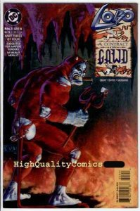 LOBO CONTRACT ON GAWD #3, VF/NM, Alan Grant, Hell vs Heaven, more in store