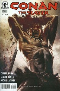 Conan the Slayer #1 VF/NM; Dark Horse   save on shipping - details inside