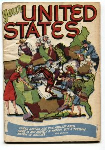 Your United States #1 1946--Seduction of The Innocent-Golden-Age comic