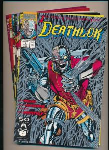 MARVEL LOT of 7 DEATHLOK #1-#7 1991/92  VERY FINE/NEAR MINT (PF296)