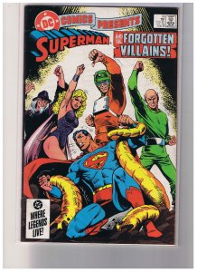 DC Comics Presents #  78 VF+