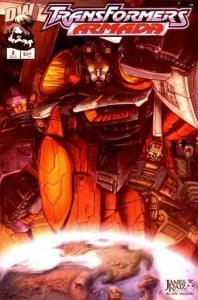 Transformers Armada #3, NM (Stock photo)