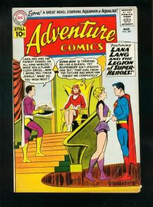 ADVENTURE COMICS #282 1960-SUPERBOY-5th LEGION STORY-STAR BOY ORIGIN-very VG