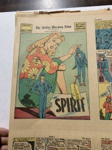 The Spirit Comic Book Section Spetember 7 1941 - April 15 1942 12 Total Complete