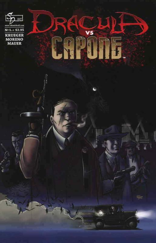 Dracula vs Capone #1 VF; Silent Devil | save on shipping - details inside