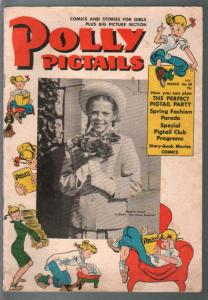 Polly Pigtails #38 1949-Natalie Wood photo cover-Dean Stockwell-G/VG