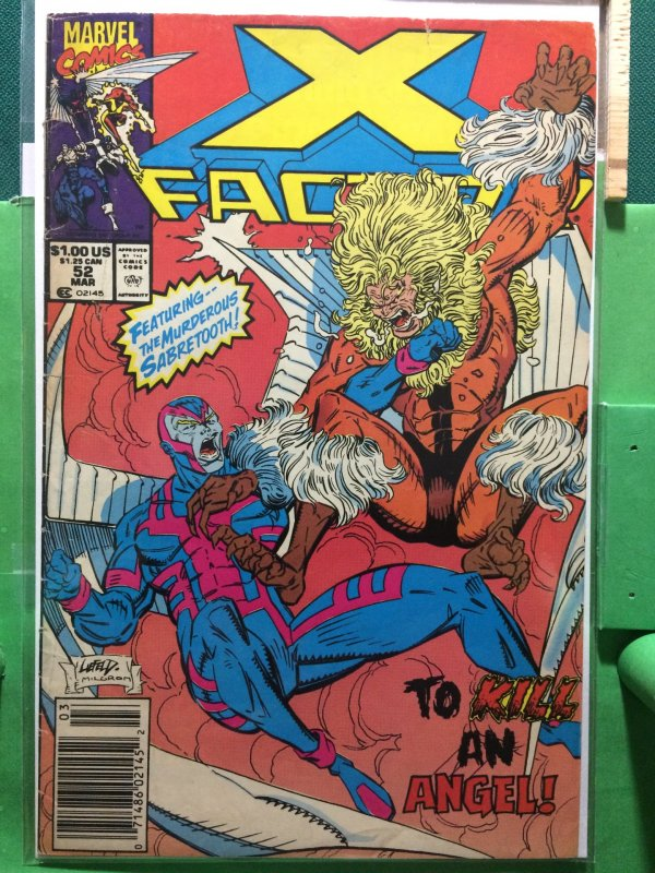 X-Factor #52 featuring Sabretooth!