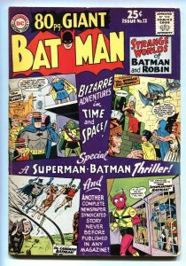 80 Page Giant #12 1965-Batman- Robin- Strange Worlds issue VG/FN