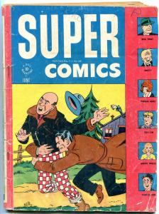 Super Comics #99 1944- Dick Tracy- Smitty-Tiny Tim-Orphan Annie G