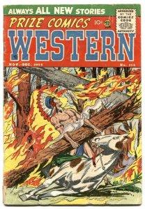 Prize Comics Western #114 1955- 1st The Drifter VG