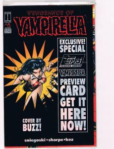 Vengeance Of Vampirella # 8 NM Harris Comic Book Special Topps Trading Card B99