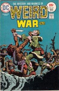 Weird War Tales #35 (Mar-75) FN/VF Mid-High-Grade