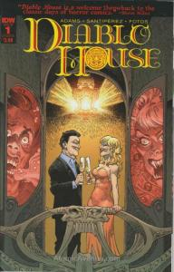 Diablo House #1B VF/NM; IDW | save on shipping - details inside
