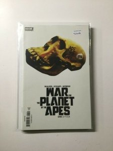 War for the Planet of the Apes 1 Variant Near Mint Boom Studios HPA
