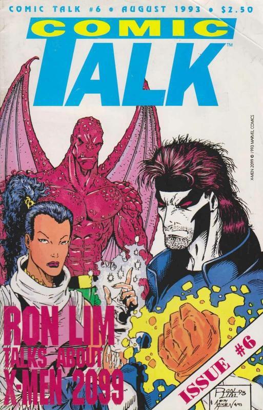 Comic Talk #6 VF/NM; Buffalo | save on shipping - details inside