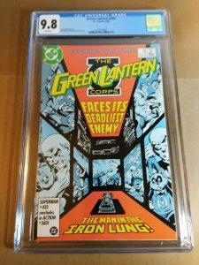 Green Lantern #204 CGC Universal Grade 9.8 NM/MT White Pages